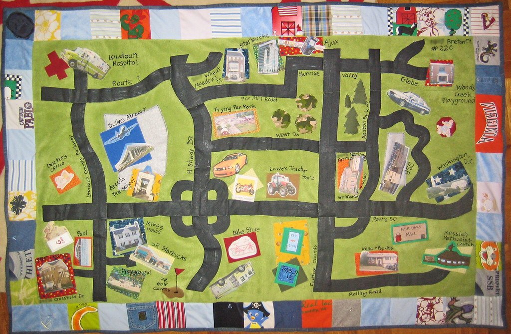 Quilt Map on