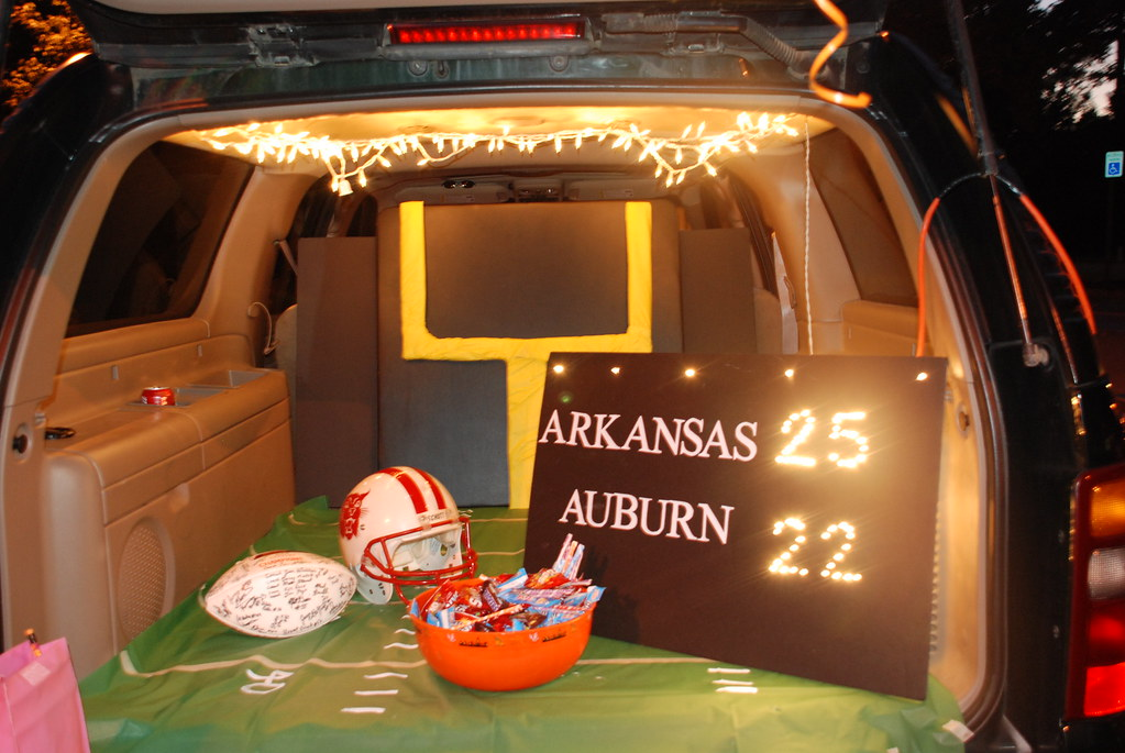 Trunk Or Treat Our Football Field For Our Church Trunk Or