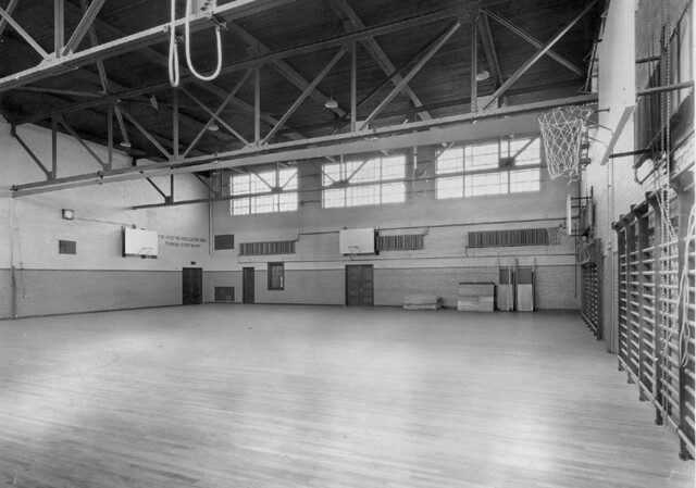 Gymnasium - Beverly High School (1923)