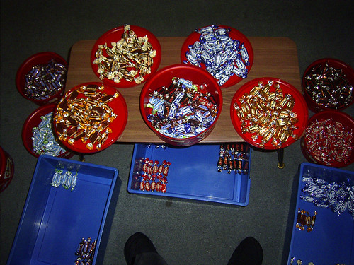Celebrations sorting process