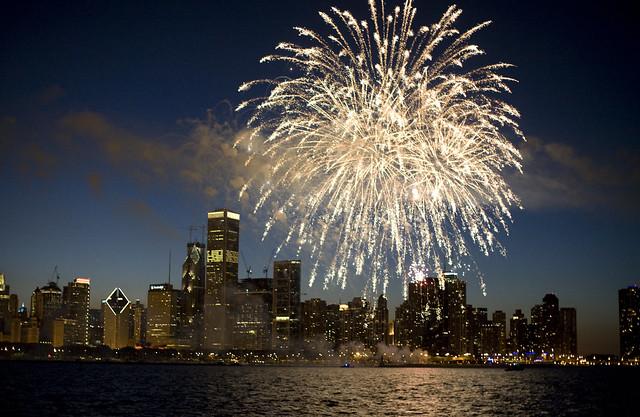 July 4 -- Fireworks Over Chicago