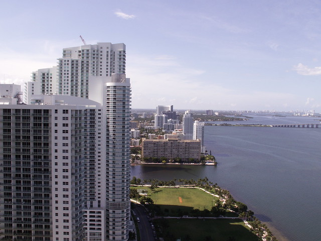 looking north -Miami