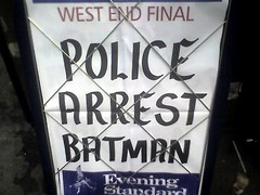 Police Arrest Batman | by LinkMachineGo