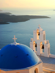 Blue-domed church at sunset | by MarcelGermain
