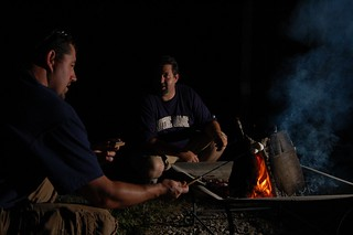Conversations over the fire