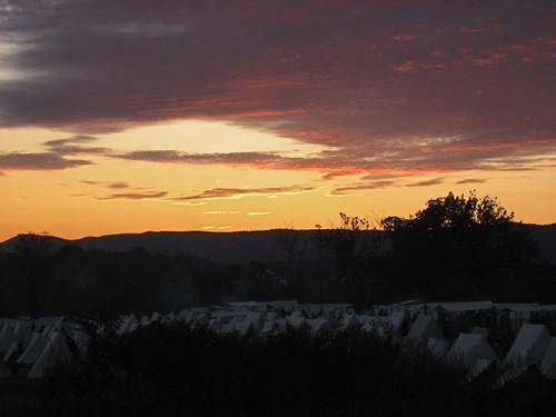 sunset virginia civilwar