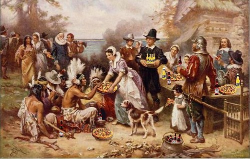 First Fun Thanksgiving, after J.L.G. Ferris | by Mike Licht, NotionsCapital.com