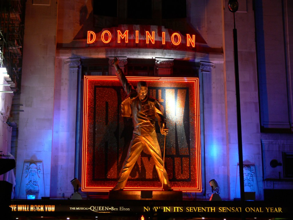 We Will Rock You musical | A statue of Freddie Mercury for W… | Flickr