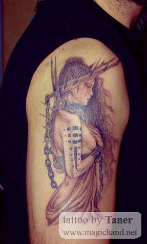 Luis Royo Tattoos | by Magic Hand