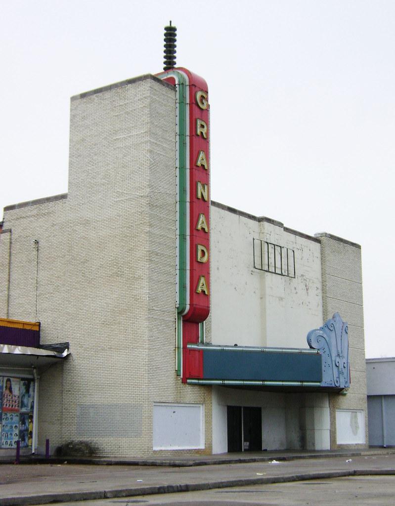 Granada Movie Theater 9321 Jensen Drive Houston Texas 1 Flickr
