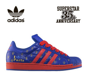 more photos 87a27 177ba Adidas Superstar 35th Anniversary Cities Series #24 Paris ...