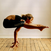 bikram yoga pose  tegmaru  flickr