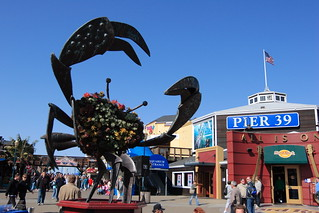 Giant Crab statue at Pier 39 | by Apricot Cafe
