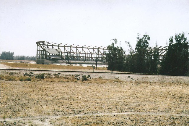 Anaheim Stadium Under Construction, 1965