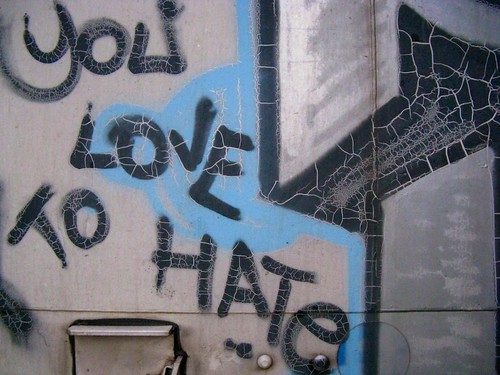 You Love To Hate | by Russell Heistuman