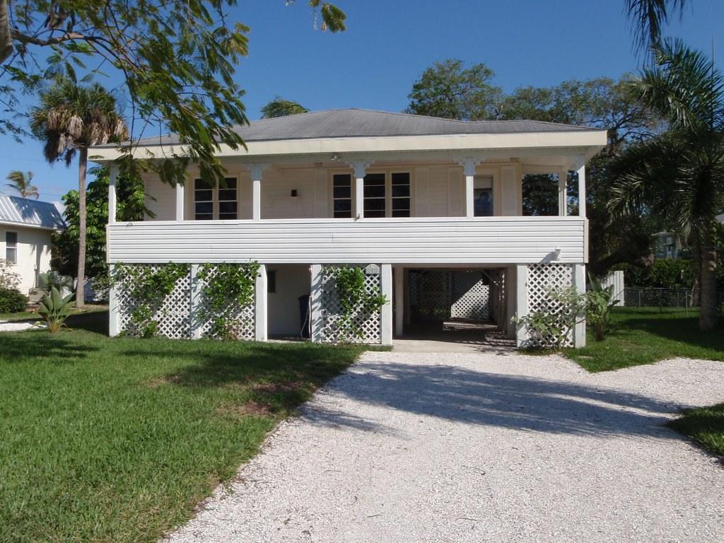 Stilt House in Fort Myers Beach, Florida | Please feel free