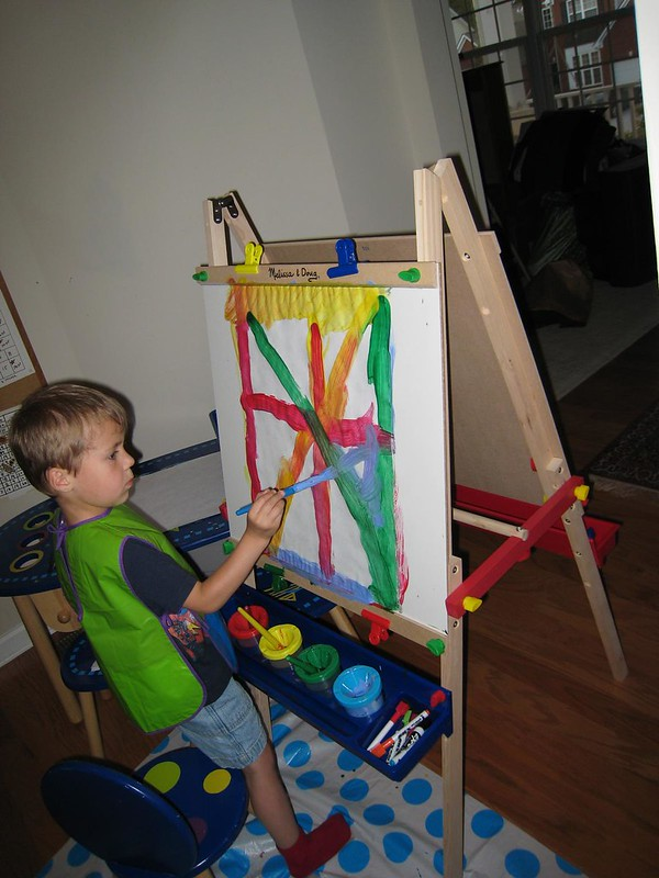 Marc's New Easel
