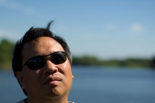 selfportrait 50mm dof wind florida bokeh blowing shades depthoffield ernie stjohnsriver debary 365days 365more bokehwednesday