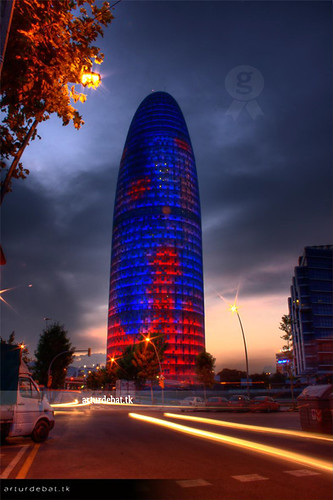 Torre Agbar by night | by ¡arturii!