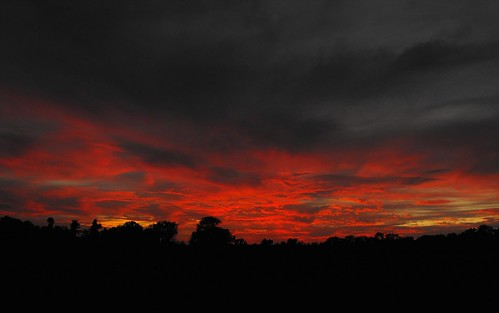 sunset sky sun storm evening hanna dusk pre tropical