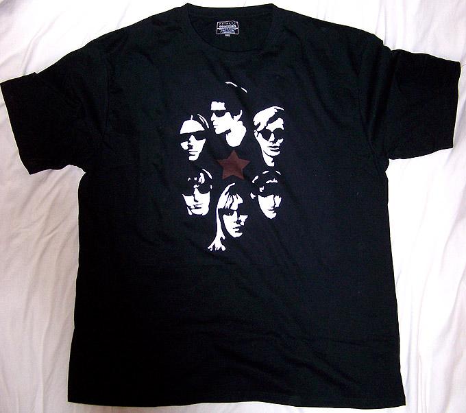 Velvet Underground, Nico & Andy t-shirt