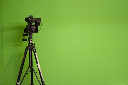 Green screen | by ZapTheDingbat