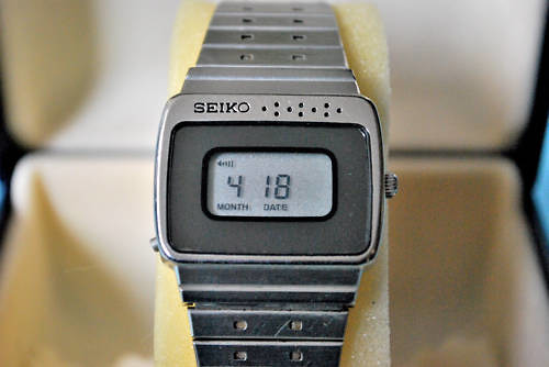 Seiko lcd watch 1980 | by watchmanbob