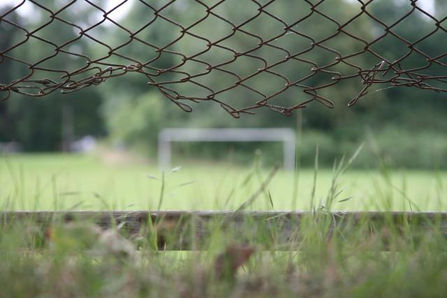 Fußballplatz in Auenheim