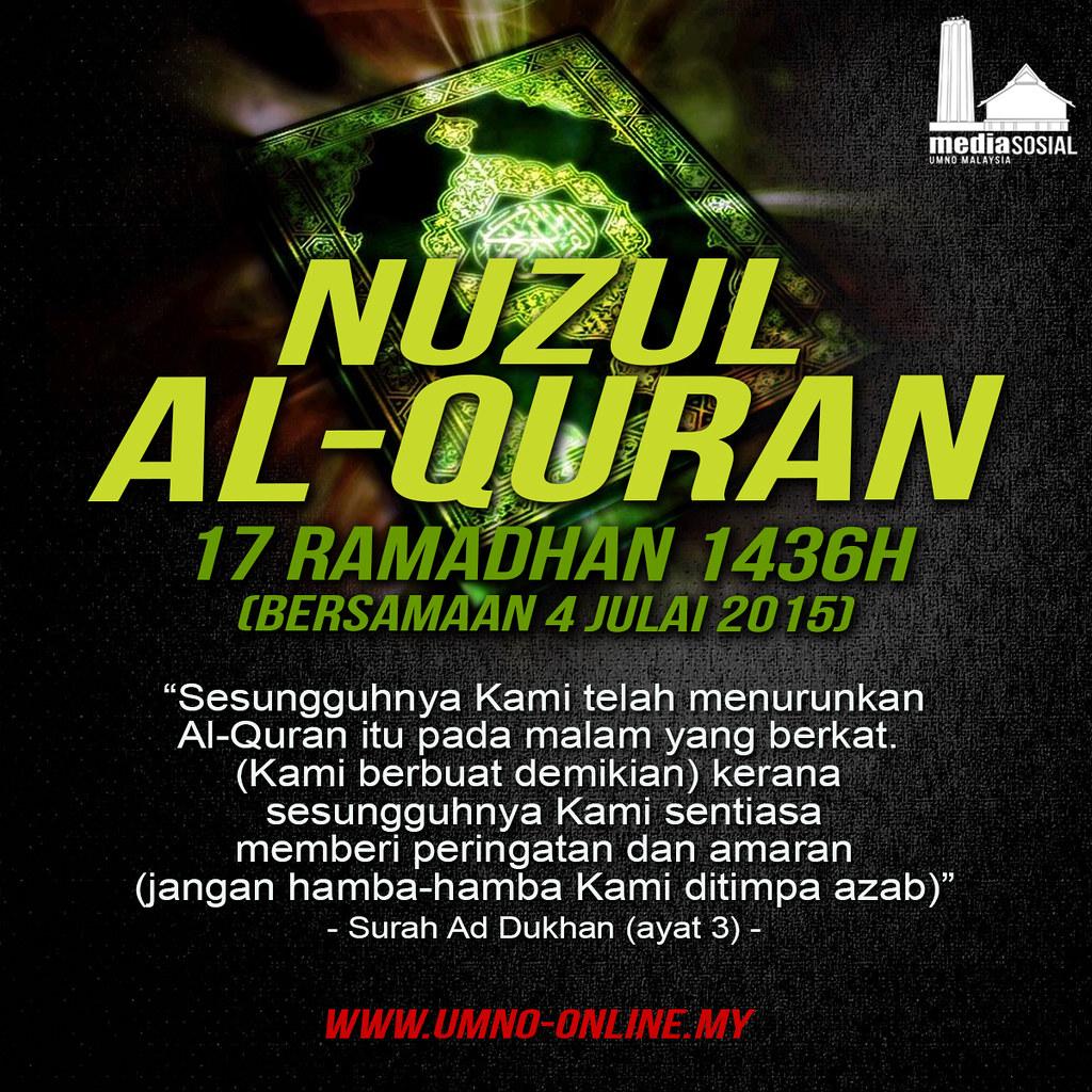 Nuzul Al Quran Umno Online Flickr