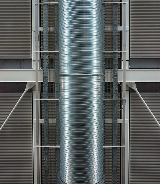 Roof Ducting: Heathrow Airport Terminal 5.