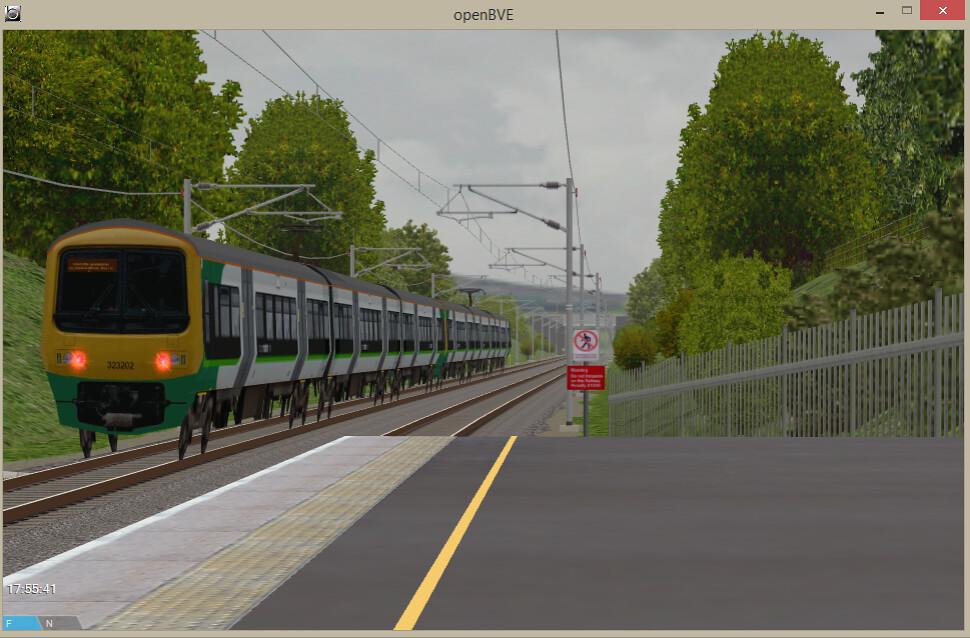 OpenBVE London Midland City - Class 323 - Semi-Fast Hammer…   Flickr