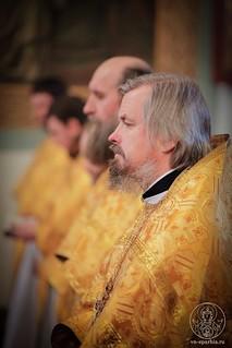 Литургия в Покровском соборе 530