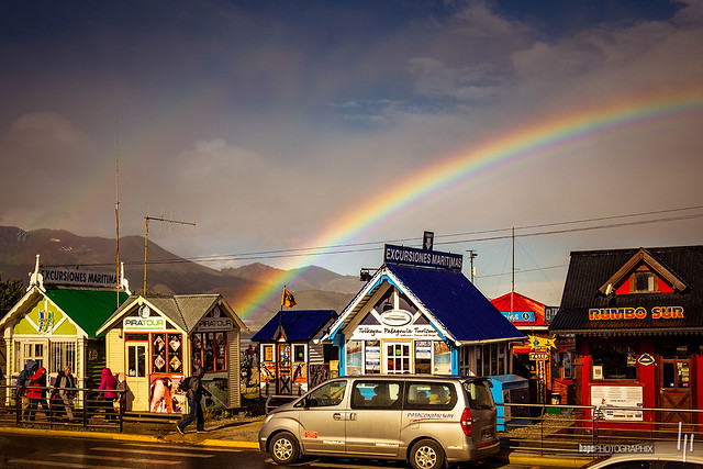 The rainbow at the end of the world