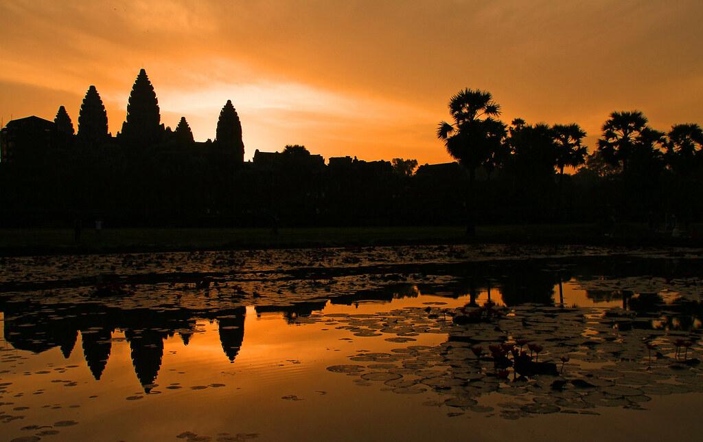 sunrise at Angkor Wat: Cambodia