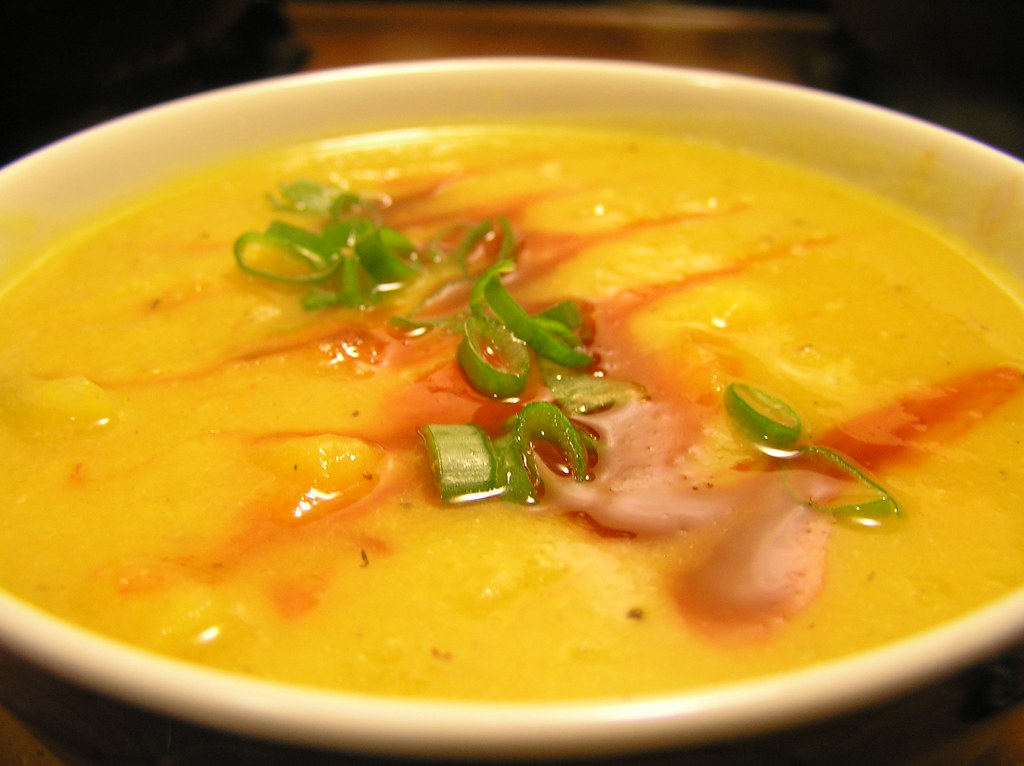 Spicy Leek and Pumpkin Soup   Appetizing Canned Pumpkin Recipes You Need To Try Now   pumpkin recipes easy