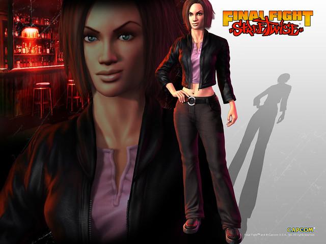 Final Fight Streetwise Vanessa Sims Wallpaper Flickr