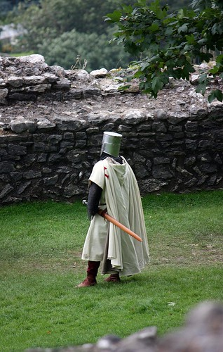 Knight at Peveril Castle 3 | by GraphicReality