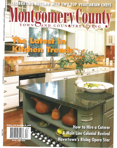 I'm PUBLISHED again!  Montgomery County Town & Country Living Fall 2008 COVER 001 | by jumajewelry