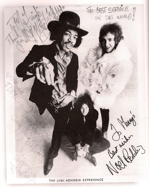 Jimi Noel Mitch - Mannys Signed Pub Shot. Sad update 6-1-09: Manny's Music R.I.P.