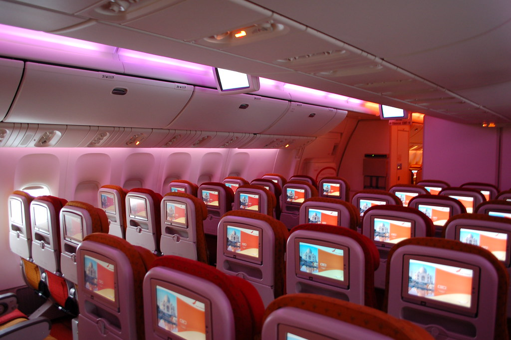 Air India Boeing 777-300ER VT-ALN Economy Class
