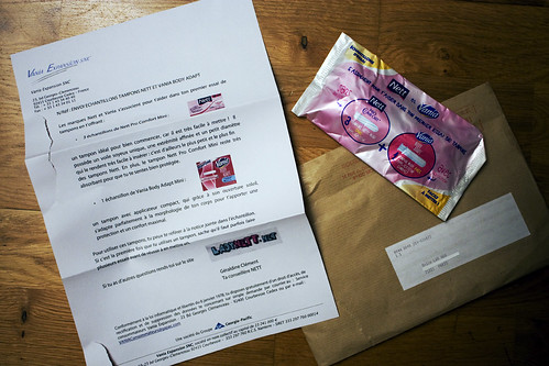 mes premiers tampons | by Lâm's Visual Diary
