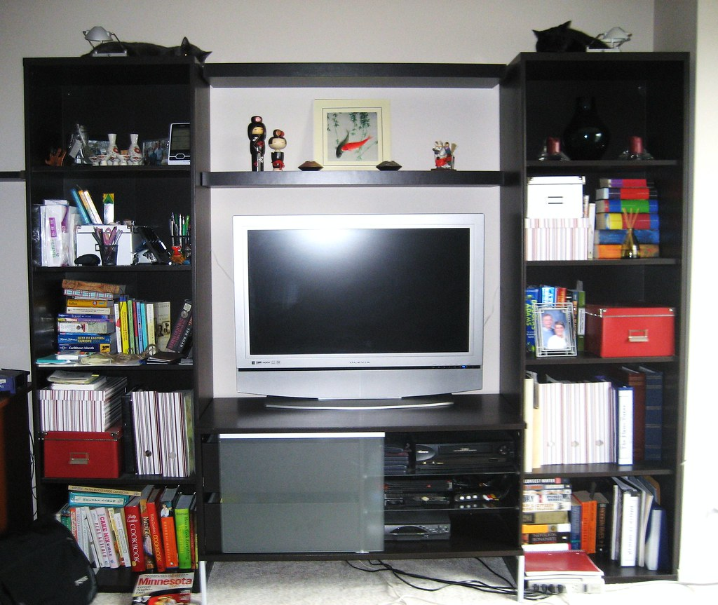 Our Tv Stand Furniture From Ikea Tobo Tv Unit Besta Boo