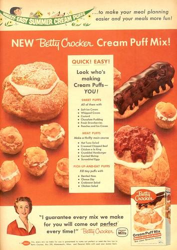 Breezy Easy Summer Cream Puff - Betty Crocker - 1957 | by senses working overtime