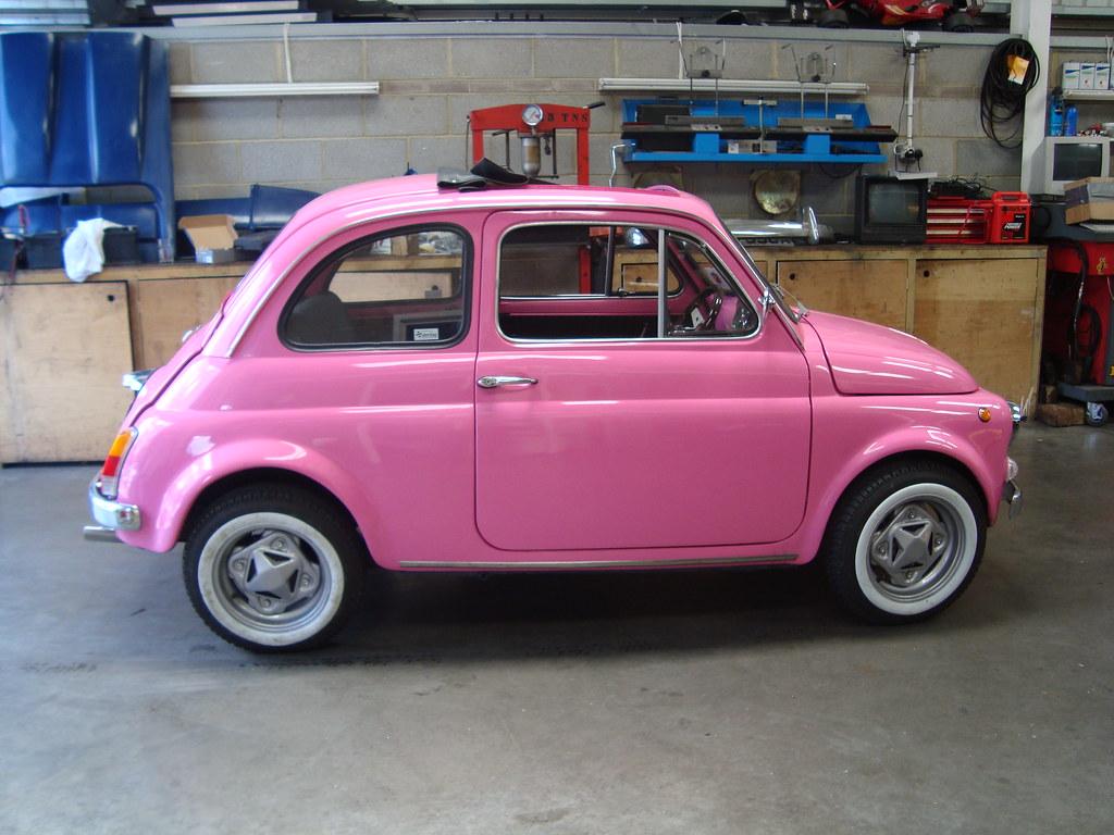 Fiat 500 Pink Bubble Gum Ricambi Fiat 500 Flickr