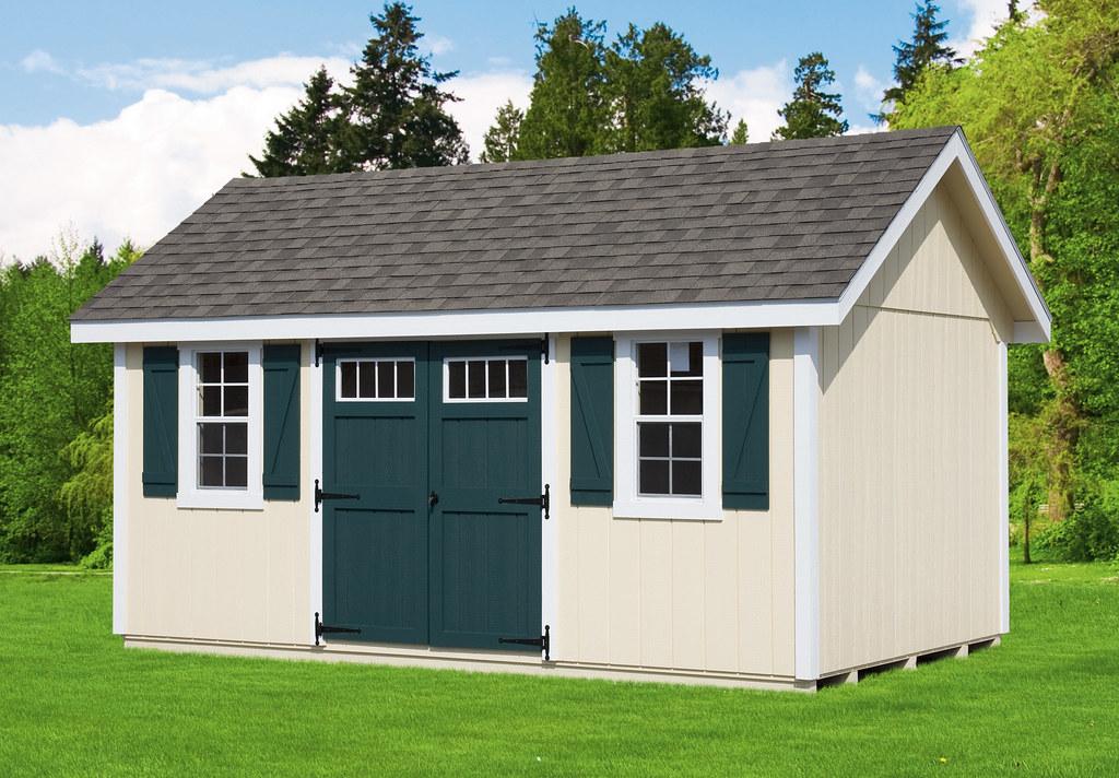 Skip's designer gable storage shed | Our designer series has… | Flickr