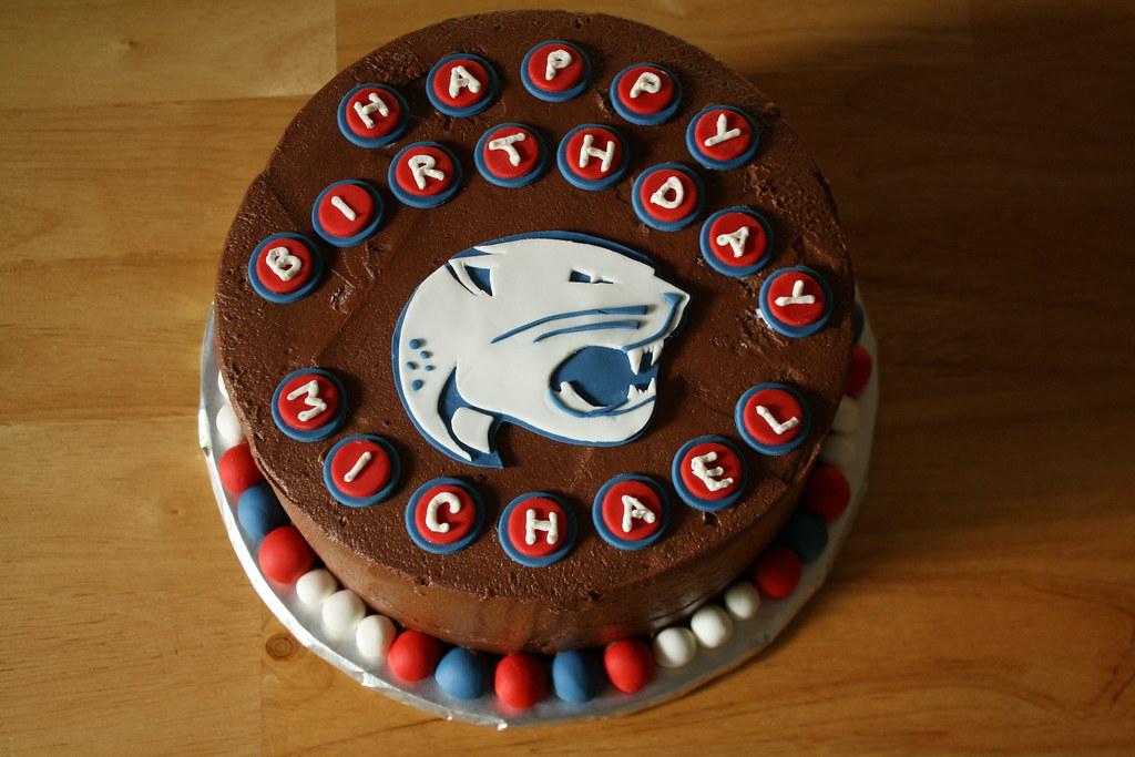 Sensational University Of South Alabama Birthday Cake Evan Davis Flickr Personalised Birthday Cards Veneteletsinfo