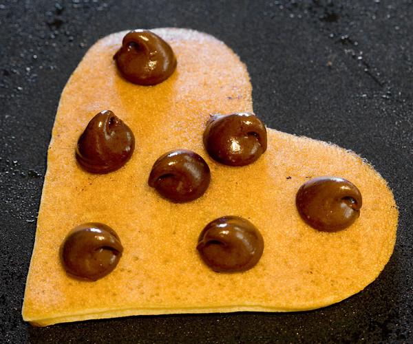 I Love Chocolate Chip Pancakes