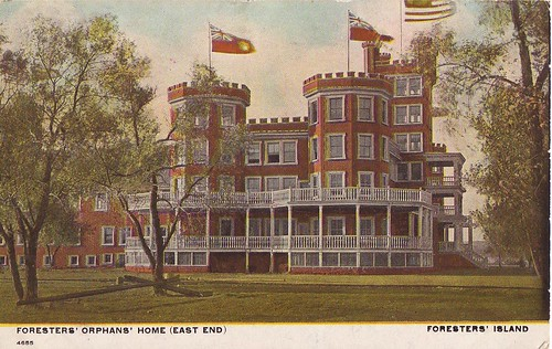 """Foresters' Orphans' Home (East End) Foresters' Island"" 