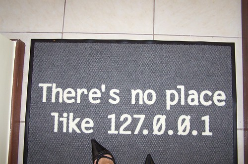 There's no place like 127.0.0.1   by Andréia