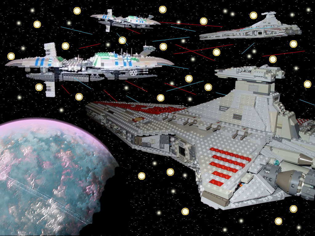 All Sizes Lego Star Wars Space Battle Flickr Photo Sharing